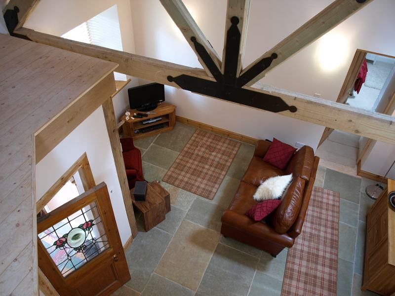Aerial View Of Aros Beag Living Room
